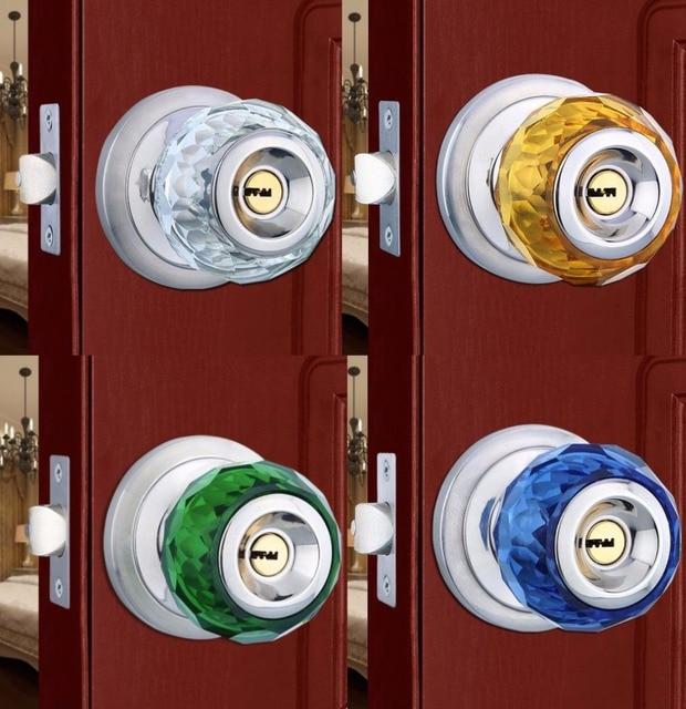 Beau Fast Shipping 60MM CLEAR CUT CRYSTAL DOOR KNOB WITH LOCKs DOOR Pull Hardware  Furniture Pull Zinc
