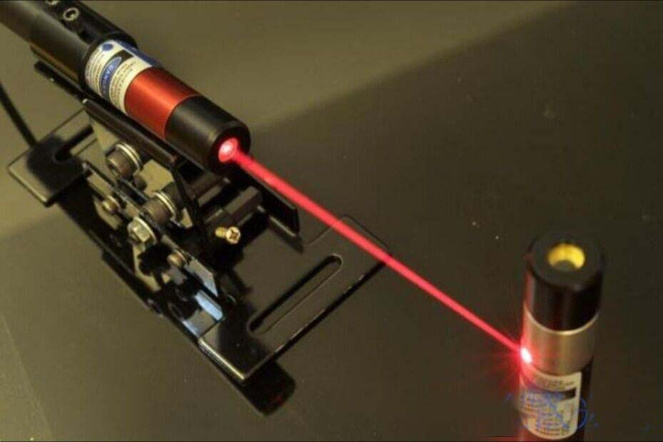 ФОТО 80mW 648nm red laser module with Cross beam with power supply and bracket