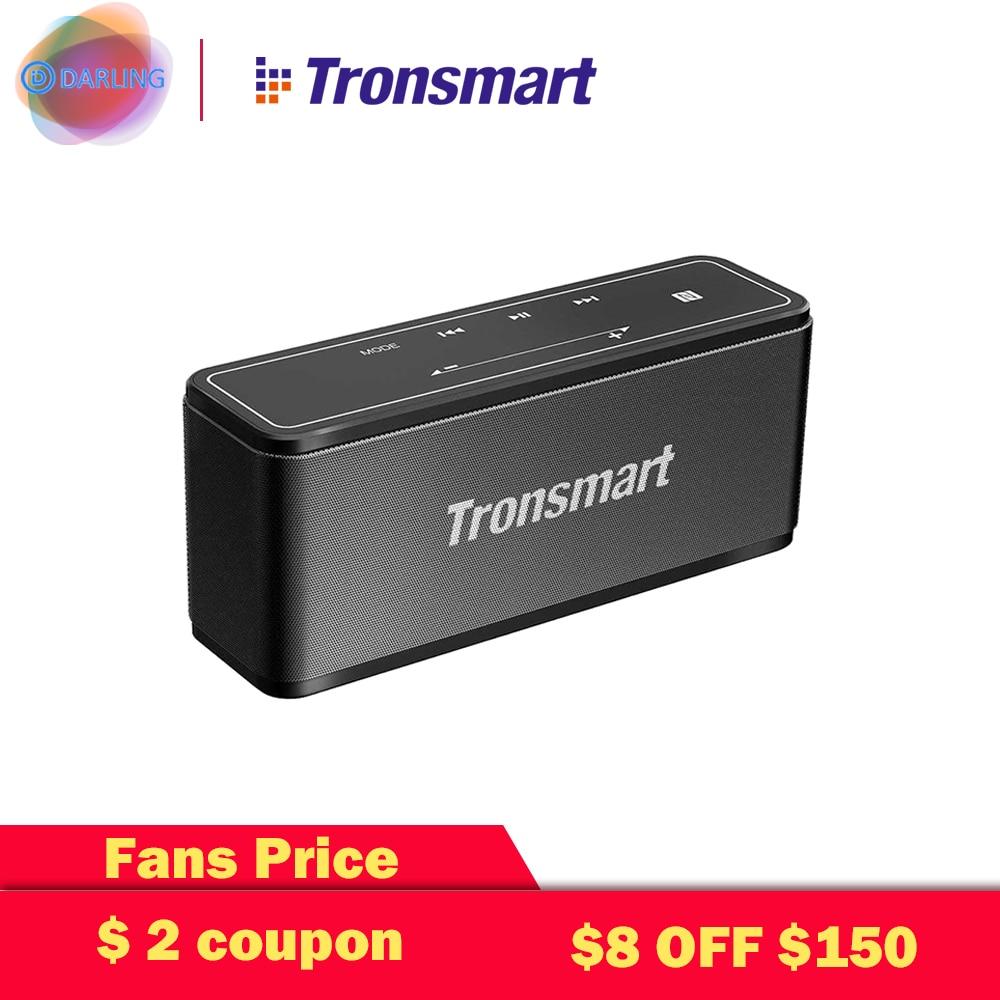 Tronsmart 40W TWS bluetooth Speaker Element Mega NFC 3D Digital Stereo With Case