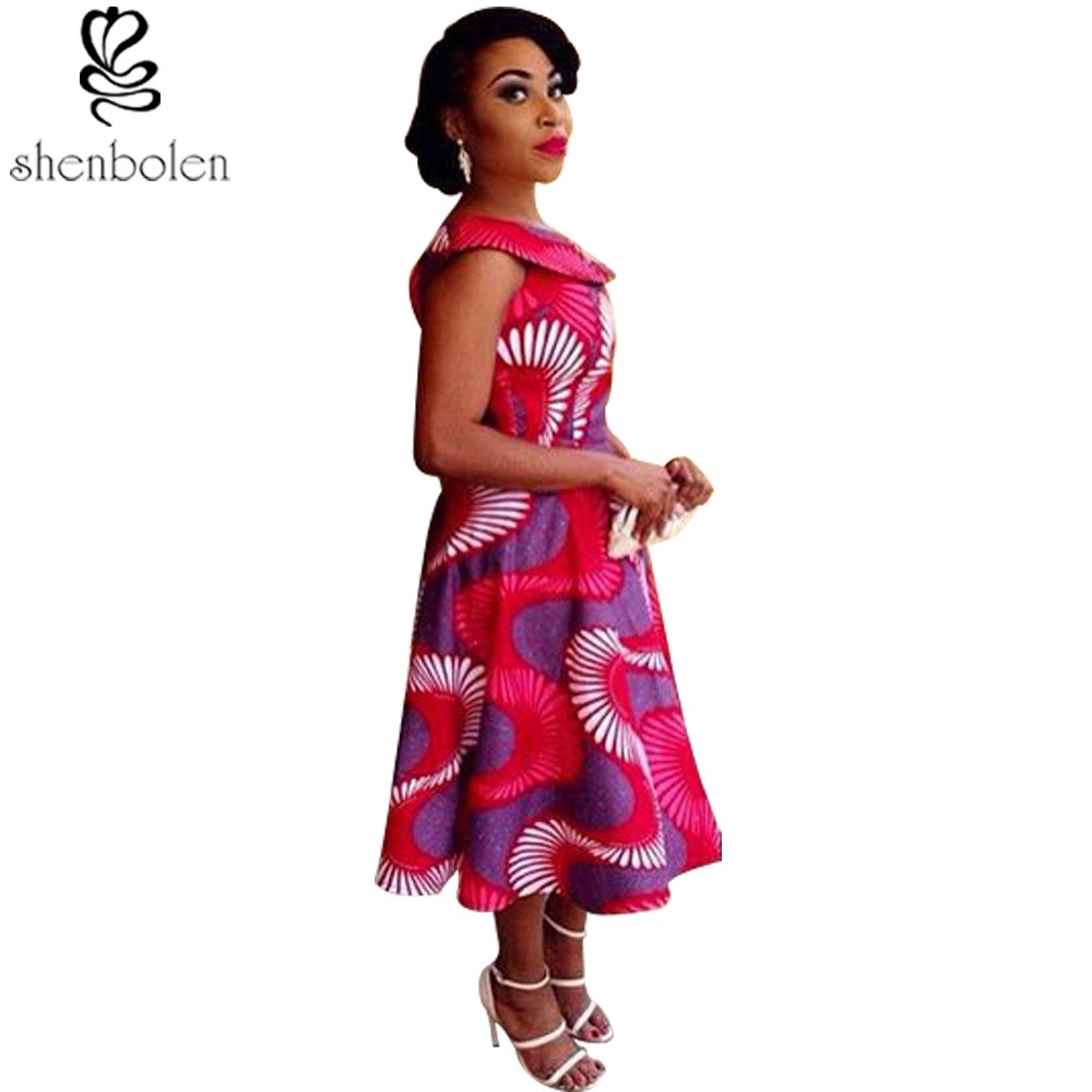 Parts & Accessories 2019 New African Batik Fabric Ethnic Style Red Leaves Printed Cotton Fabric Good Quality Suit Dress Clothing Cloth Wholesale Fashionable Patterns