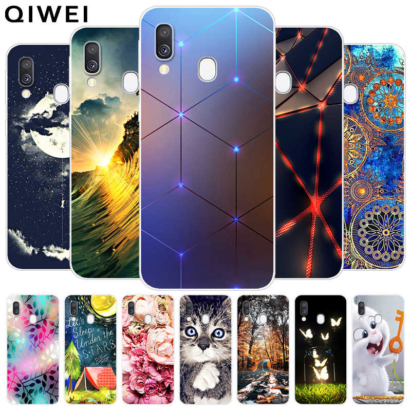 For Samsung Galaxy A40 Case 2019 NEW Fashion silicone Soft TPU Back Cover Coque For Samsung A40 A 40 Phone Cases A450F SM-A405F