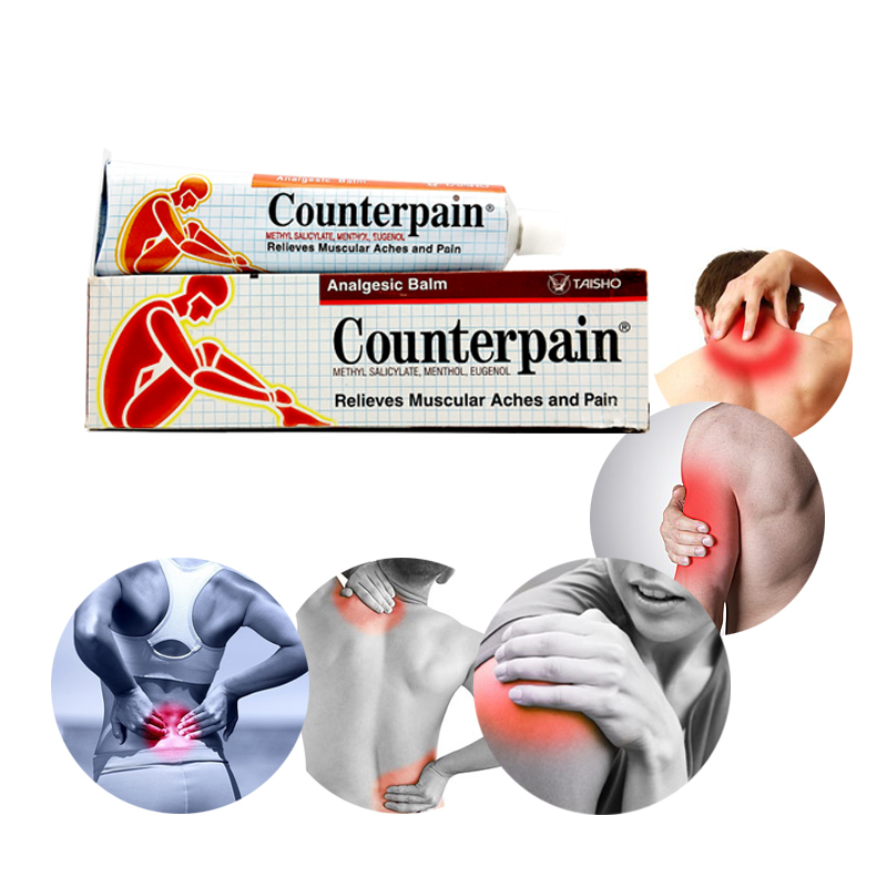 <font><b>Thailand</b></font> Counterpain Analgesic Balm Relieves Muscle Aches and Pain Relieve Pain Balm Rheumatoid Arthritis Ointment image