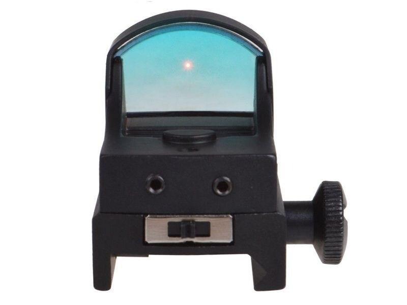 1x22 Auto Brilho Compact Red Dot Âmbito