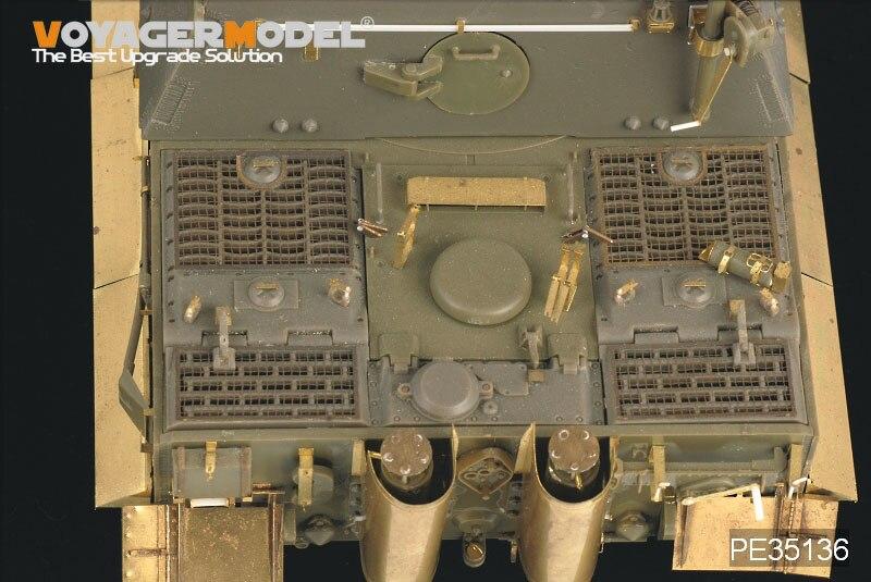 & rdquo; tanque de assalto upgrade metal gravura kit (AFV)