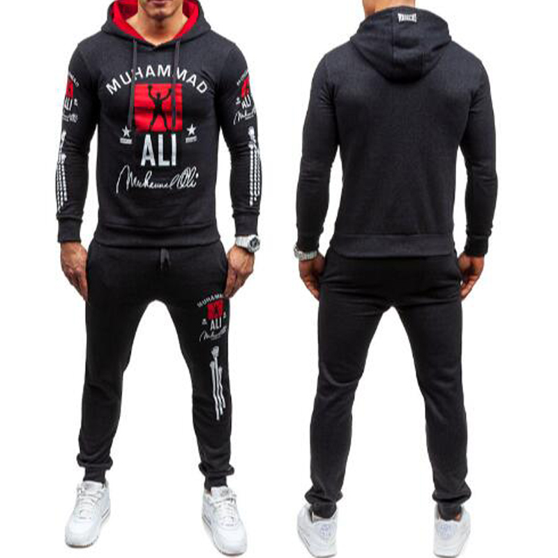 2016 new fashion muhammad ali hoodie men autumn winter. Black Bedroom Furniture Sets. Home Design Ideas