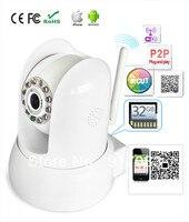 P2P Plug & Play Sem Fio da Câmera de Rede de Apoio 32 GB TF cartão Iphone Android sistema Com IR Cut|network camera|camera network|wireless camera -