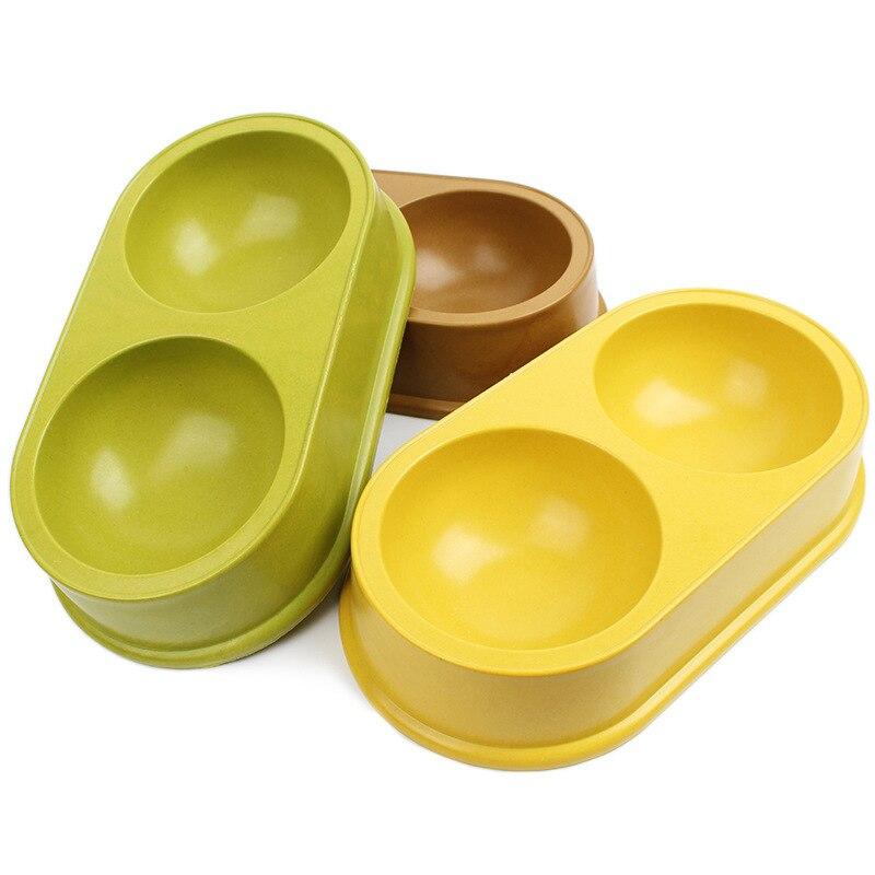 Doble perro bowl Alimentadores Del Animal Doméstico Fuentes Del Perro Productos