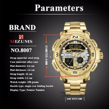 Mens Quartz Analog Watch Luxury Fashion Sport Digital Wristwatch Waterproof Stainless Male Watches Clock Relogio Masculino