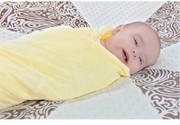 Spring And Summer Multi Function Cotton Baby Blanket No Solid Blanket Baby Gauze Scarf 110 110cm