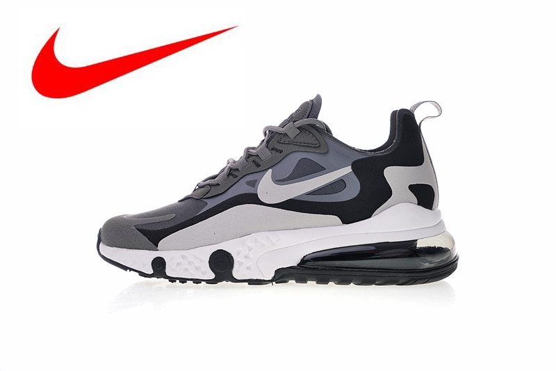 superior quality 106cd b2612 D origine Nike Réagir Air Max 270 Premium Hommes de Chaussures de Course  Neuf de Haute Qualité En Plein Air Espadrilles Absorption Des Chocs size40  45 dans ...
