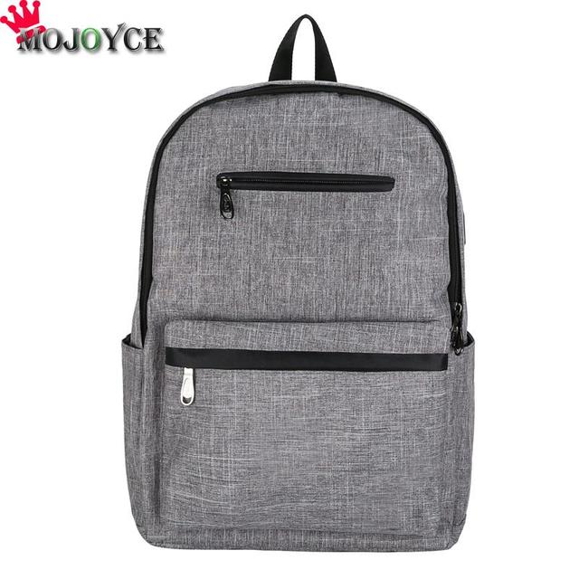 cedd7af1a3f Women Men Multifunctional Travel Backpack USB Port Anti Thief Solid Bag  Leisure anti-theft Backpack School Bag