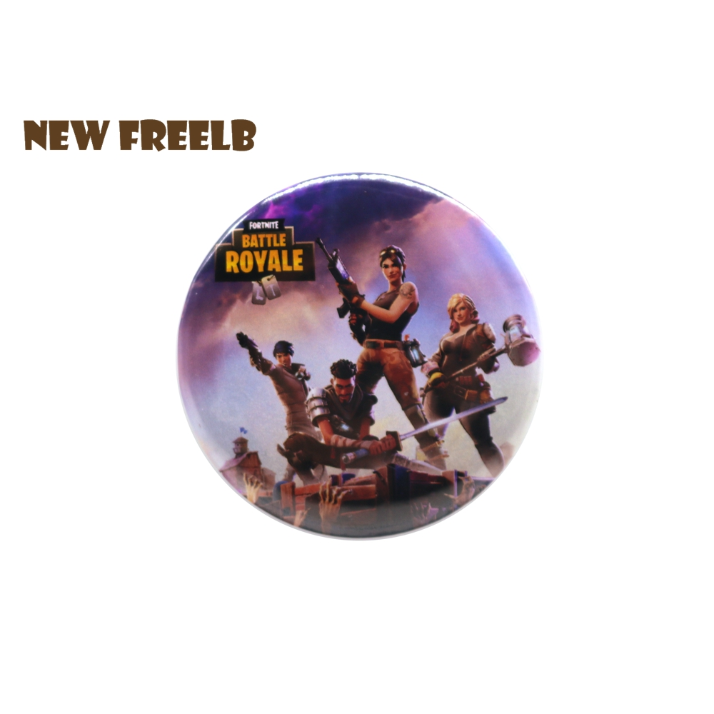 Hot FPS Game Fortnite Battle Royale Pin BUTTON Badges Brooches School Bag Badge Hot Mobile Game Cosplay Collection Great Gift