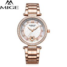 2017 New Time-Limited Sale Ultrathin Watch Steel Watchband Saphire Dial White Female Clock Waterproof Quartz Women Wristwatches
