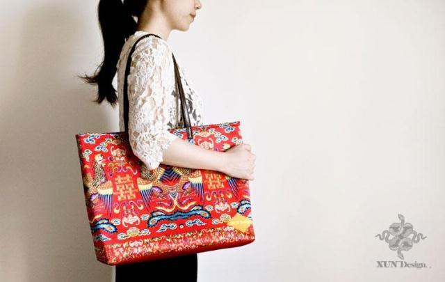 Asian Imperial style Chinese The original design handbags -Phoenix Celebrate shoulder bag handbags Fashion bag For Gift