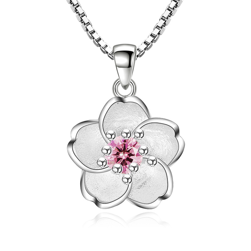 Jewels Obsession Cherries Pendant Sterling Silver 925 Cherries Pendant 18 mm