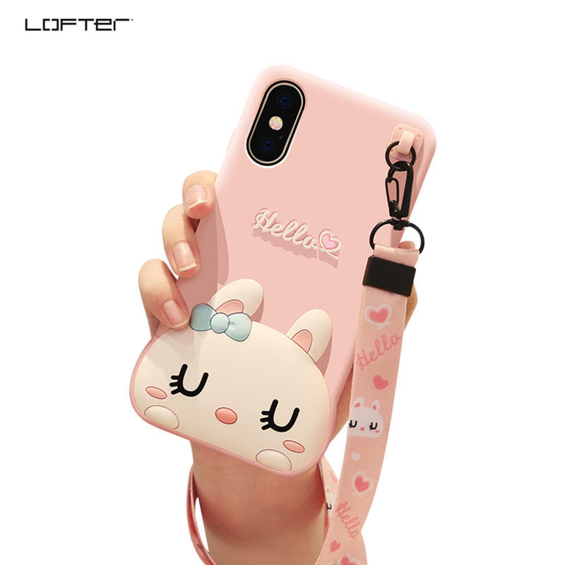 Half-wrapped Case Cellphones & Telecommunications Hearty Lofter Soft Tpu Fashion Case For Iphone X 8 7 6 6s Plus Silicone Soft Back Cover For Iphone 7 Cute Luxury 360 Mobile Cases&cover
