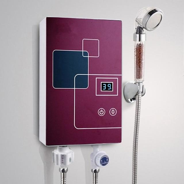 l'eau chaude sanitaire robinet Électrique instantanée douche ... - Robinet Eau Bouillante Instantanee