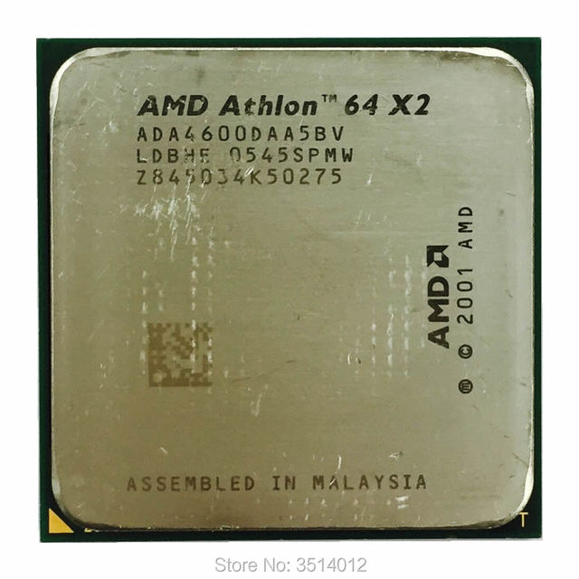 AMD Athlon 64 X2 4600 4600+ 2 4 GHz Dual Core CPU Processor ADA4600DAA5BV  Socket 939-in CPUs from Computer & Office on Aliexpress com | Alibaba Group