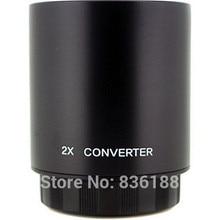 Lente Teleconverter 2X para Bower & Vivitar Jintu 650-1300mm 500mm & JINTU 420-800mm Lente Zoom telefoto