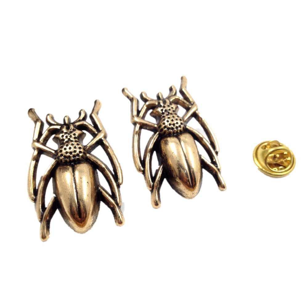 ファッション合金動物カブトムシブローチ男性メタル昆虫パーティー宴会ビジネススーツブローチギフト