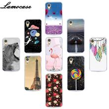 "Lamocase Soft TPU Phone Case For OnePlus X One Plus X E1001 E1003 Painting Cover For OnePlusX 5.0"" Flamingo Back Case Covers"
