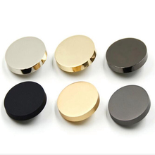 1lot=10PCS Sewing accessories metal decorative buttons for clothing bouton fantaisie botones crafts color:silver gold black