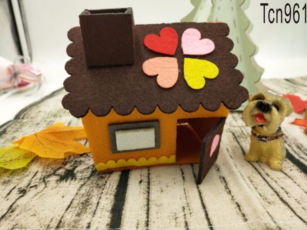 Miłość domek z drewna formy/narzędzie do cięcia die/Tcn961 w Matryce do wycinania od Dom i ogród na  Grupa 1