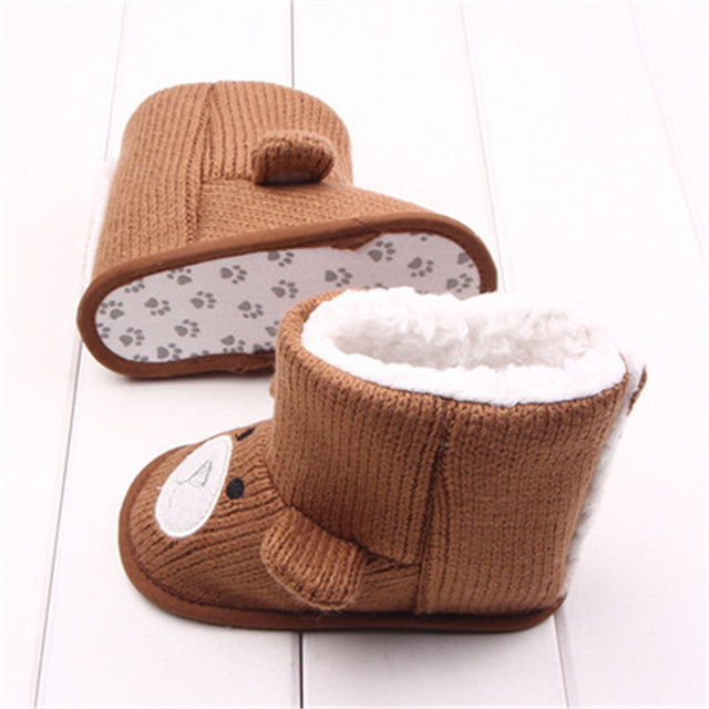 Baby's Warm Soft High Cotton Shoes