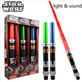 Crianças Armas de Brinquedos Figura de Ação de Star Wars Sabre De Luz com Luz e Som Led Azul Sabre Jedi Star Wars Darth Vader Brinquedo Espada de laser