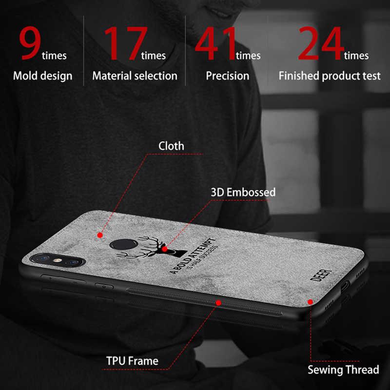Ткани чехол для телефона для xiaomi mi a2 lite 8 9 se a1 a2 6x mi x 2 s Макс 2 3 redmi 7 Примечание 5 6 pro 6a pocophone силиконовый чехол