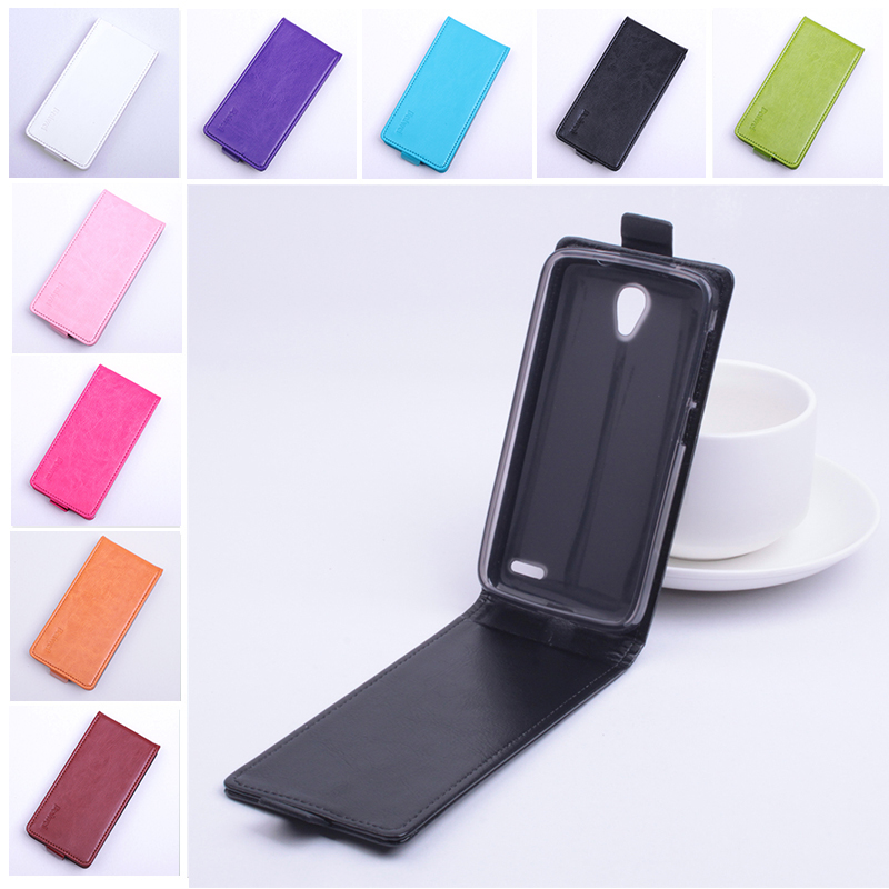 Luxury Flip Leather Cover Case for Alcatel One Touch Pop 2 Pop2 M5 4.5 To 5042 5042X 5042D 5042A 5042W Vertical Back Cover