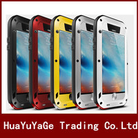 אהבת מיי קייס מתכת יוקרה אלומיניום עפר חזק עמיד למים עמיד הלם כיסוי עבור 5S SE 5C 6 6 S iPhone 5 בתוספת iphone 7 8 בתוספת