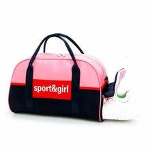 Sport Bags For Gym Women Pink Independent Shoe Bag For Fitness Large Capacity Travel Storage Bag Dry And Wet Separation Swim Bag цены