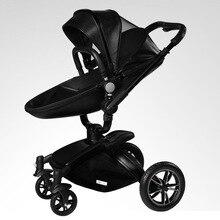 Aulon High Landscape Luxury Baby Stroller 2 in 1 Hot Mom Stroller Baby Carriage Car Split Style