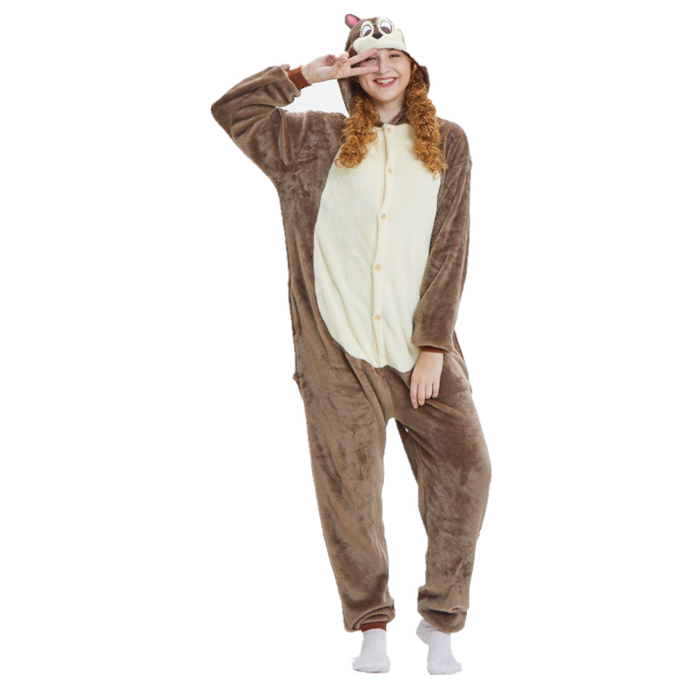 a21994ffa Unisex Adults Animal Kigurumi Onesies Pajamas One Piece Costume ...