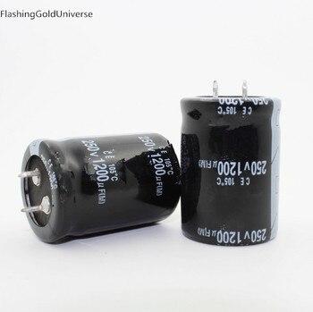 250V 1200UF 1200UF 250V   Electrolytic Capacitor  volume 30X40mm 35X45MM best quality