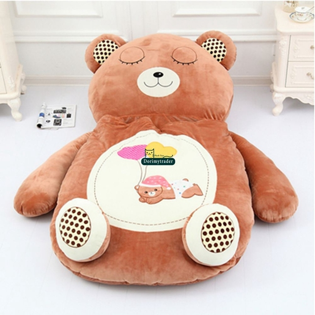 Dorimytrader Giant Cartoon Sleeping Bag Soft Plush Animal