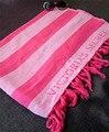 Marca Victoria VS Secreto Rosa de Algodón Manta Toalla De Playa Grande de Algodón Chal Pañuelo que Cubre Manta de múltiples funciones 140*180 cm