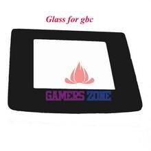 10 piezas de Material de vidrio reemplazar la cubierta de la Lente de la pantalla para la pieza de reparación de Gameboy Color GBC