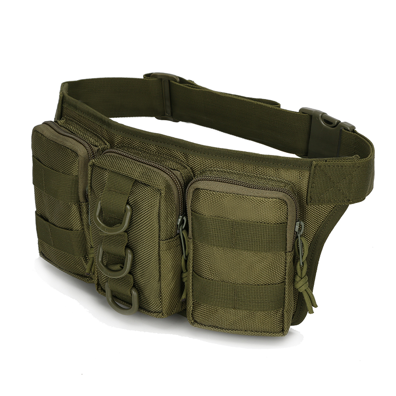 New Triple Tactical Molle Waist Bag Waterproof Men Army Military Waist Pack nylon Waist Bag Small bags Phone Pouch Case niko black 21 23 26 ukulele bag silver edge nylon soprano concert tenor soft case gig bag 5mm thick sponge