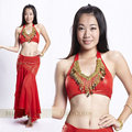 2016 The new Top belly dance peacock shirt bra belly dance costume belly dance
