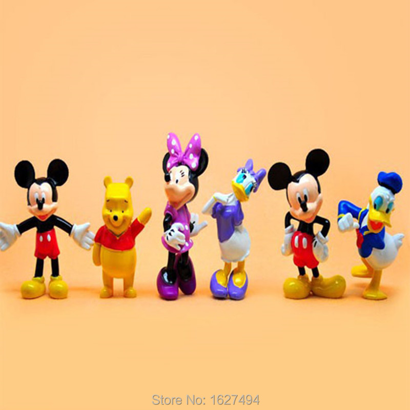 Mickey Mouse Plastic Figurines - All About Plastic 2017
