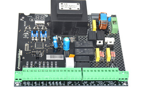 Image 5 - 230VAC Power input Swing Gate opener board card chip circuit board controller Control Panel remote control optional