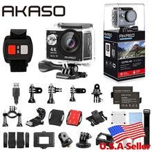 Akaso EK7000 4 К WI-FI Открытый Действие Камера Ultra HD Go Водонепроницаемый мини Cam Pro велосипед видео спортивные перемещение Камера