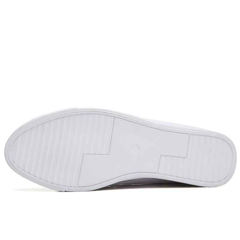 MIUBU Gizli Topuklu Beyaz Platformu Takozlar Ayakkabı Kadın Ayakkabı Yüksek Top PU Deri Tenis Feminino Rahat Sepeti Daireler