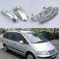 Estilo do carro espelho lateral com indicador sinais de volta luzes para volkswagen vw sharan 1995-2010 diodo emissor de luz