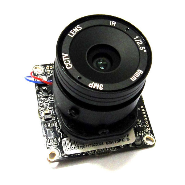 ФОТО HD IP Camera Module 720P 1.0MP CCTV IPC PCB Main Board 1mp Hi3518E ONVIF H.264+ 4mm CS lens, IRCut