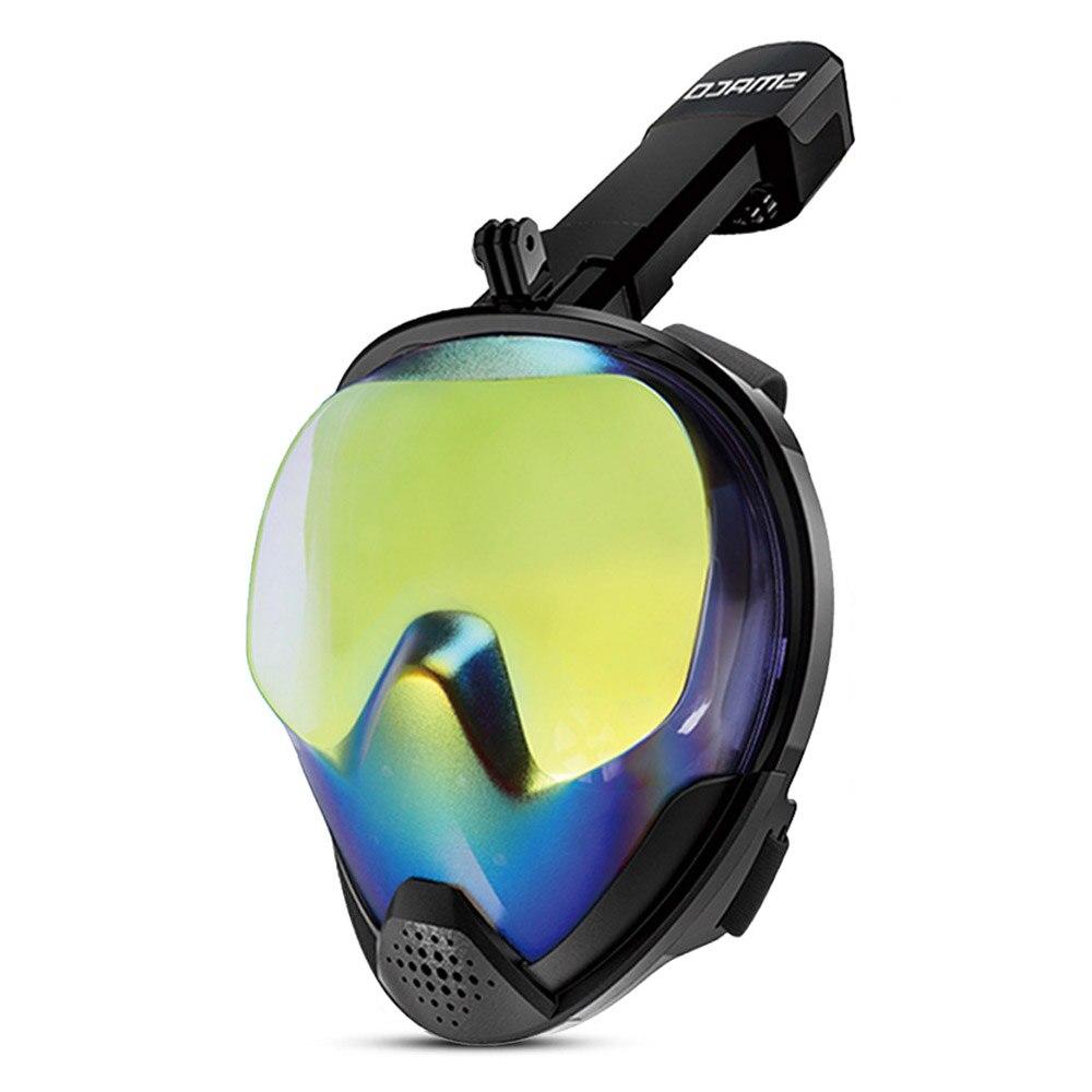 Snorkel Máscara de Mergulho Cara Cheia Conjunto Natação Subaquática de Mergulho Mergulho Snorkel Mergulho Mergulho óculos de proteção Anti Nevoeiro Acessórios De Treinamento