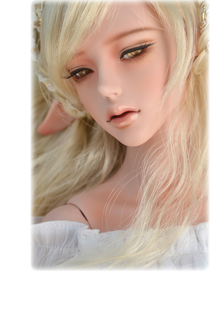 1/3 BJD pop BJD/SD pretty girl Heliot figure doll DIY Model Toys gift.
