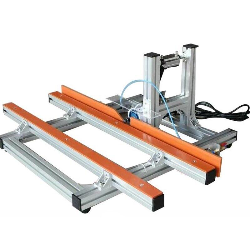 Machine de découpage de bord de bois électrique tondeuse de bord de PVC machine de découpage portative 350W 220V